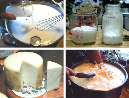 att göra ost