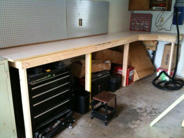 Bygga arbetsbänk garage