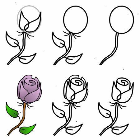 hur ritar man en ros