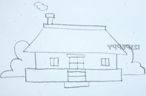 Hur man ritar ett enkelt hus wki for Huizen tekenen