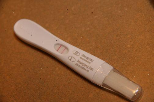 när gör man graviditetstest