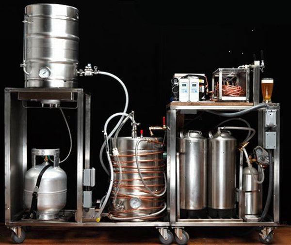 brygga öl utrustning
