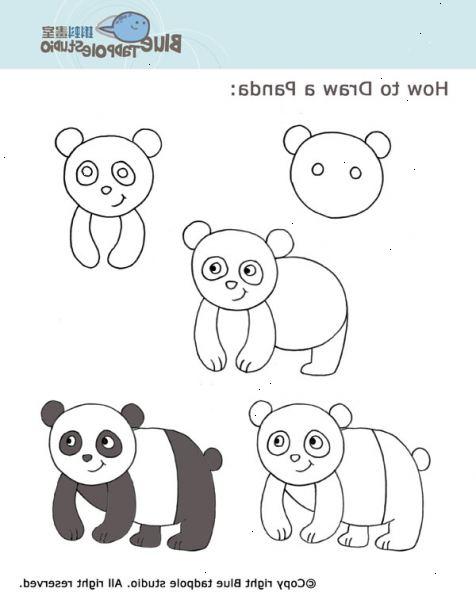 hur man tecknar